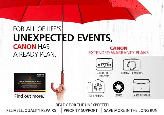 Product Warranty - Canon Singapore