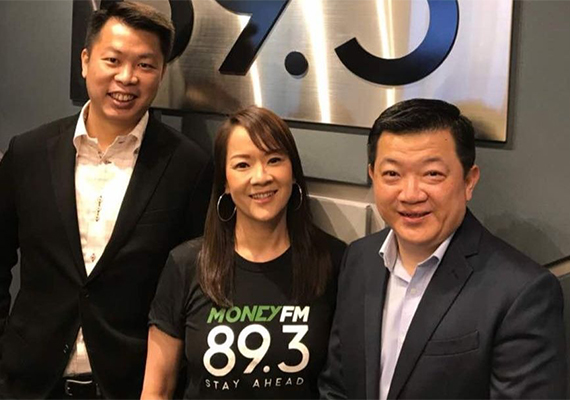 """MoneyFM 89.3 """"Business Forward"""": How Business Can Be Simple with Canon Singapore"""