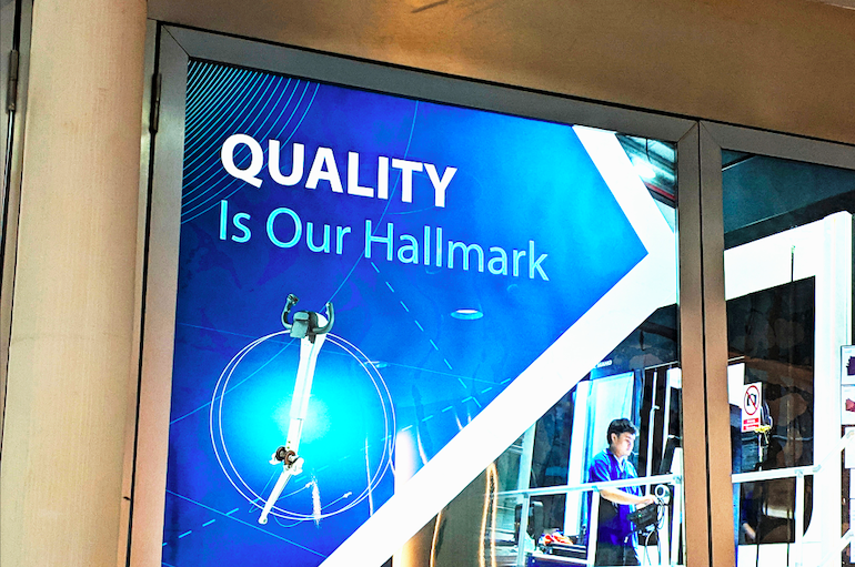 Quality is our hallmark
