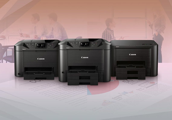 Small Yet Mighty: New MAXIFY Printers Have It All