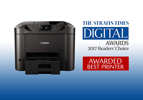 The Canon MAXIFY printer just won an award. Here's why.