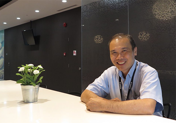Getting to Know: Mr. Peter Lim, Engineer, Corporate Service Division