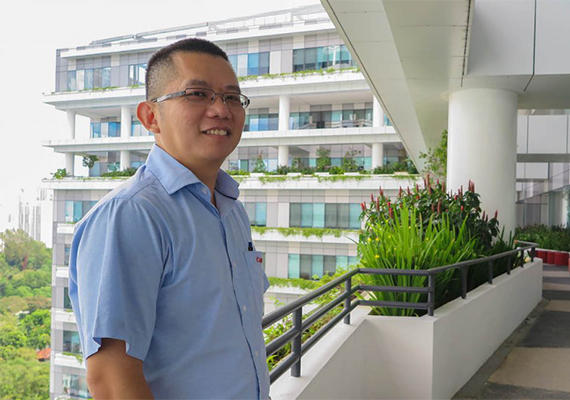 Getting To Know: Mr. Tan Chin Tiong, Senior Engineer, Zone D