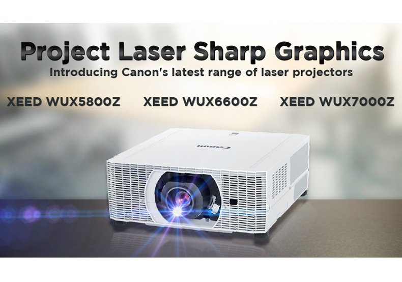 Your Answer to Laser Sharp Graphics: Canon's Newest Range of Laser Projectors