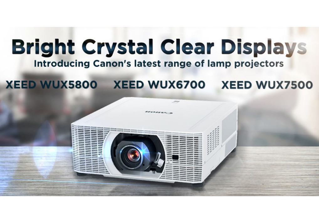 Bright, Crystal Clear Displays: Shining the Spotlight on Canon's New Range of Lamp Projectors