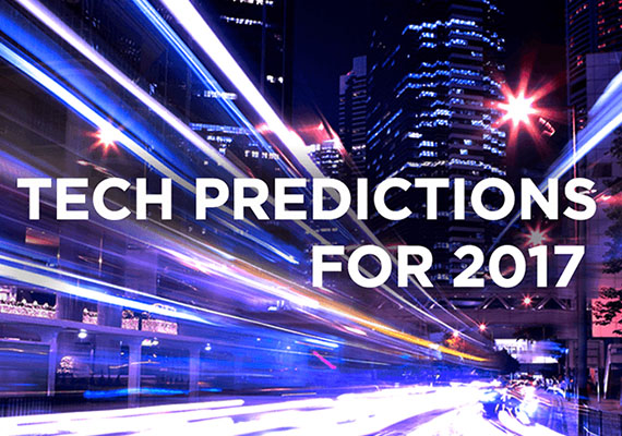 Five Tech Predictions for 2017
