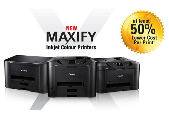 Introducing MAXIFY, Canon's New Range of Inkjet Colour Printers