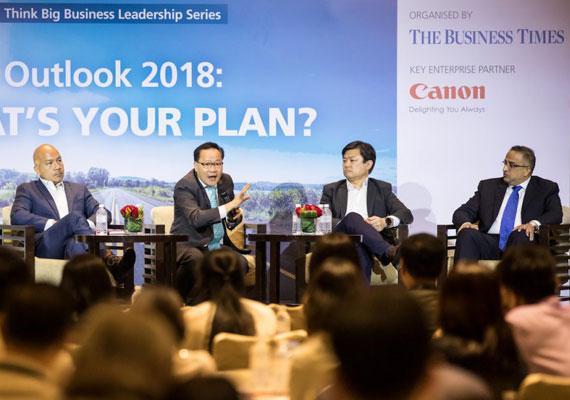 Think Big Leadership Business Series 2017: Outlook 2018