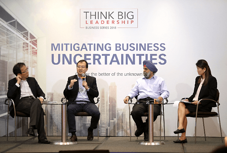 Highlights from the Think Big Leadership Business Series 2018: Mitigating Business Uncertainties
