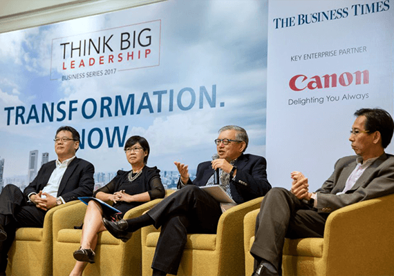 Think Big Leadership Business Series 2017: Transformation Now