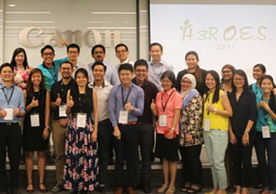 The H3ROES Programme: A Proud Initiative by Canon and Ground-Up Initiative (GUI)