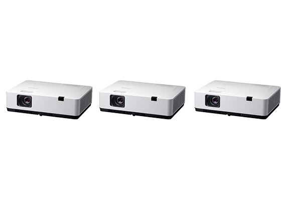 Canon Unveils Three New LCD Panel Projectors with Long-Life Lamps