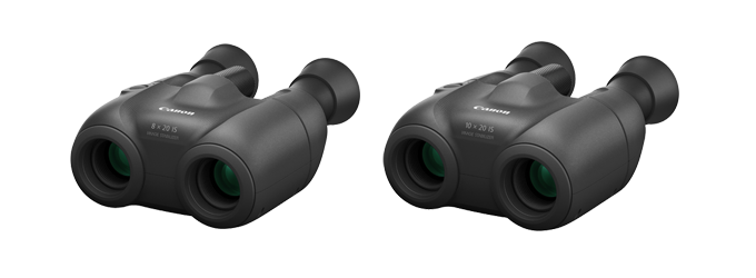 Canon Introduces Two New Binoculars, Equipped with Shift Image Stabilization Technology