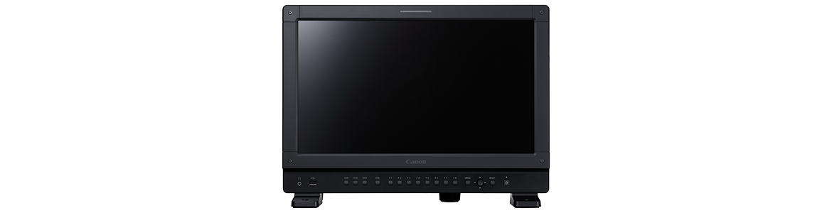 "Canon Announces Firmware Upgrades for Professional 17"" 4K Displays ""DP-V1710 / DP-V1711"" to Enhance Luminance"