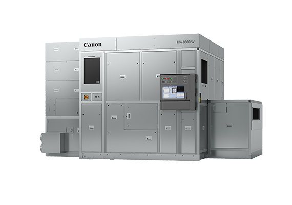 Canon Commences Sales of the FPA-8000iW Semiconductor Lithography System which Combines a 1 μm Resolution with Support for Large Panels