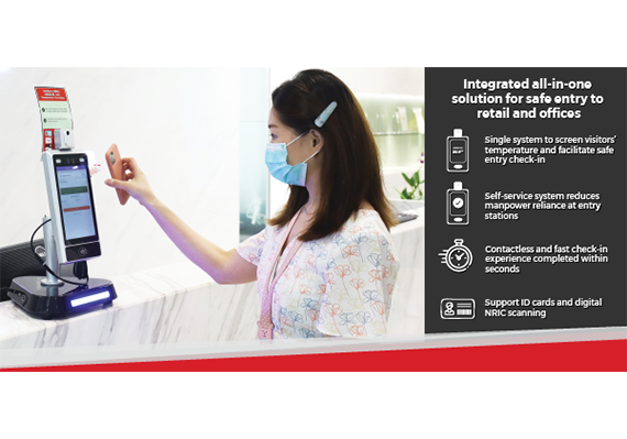 Facial Access Control Temperature System (FACTS)