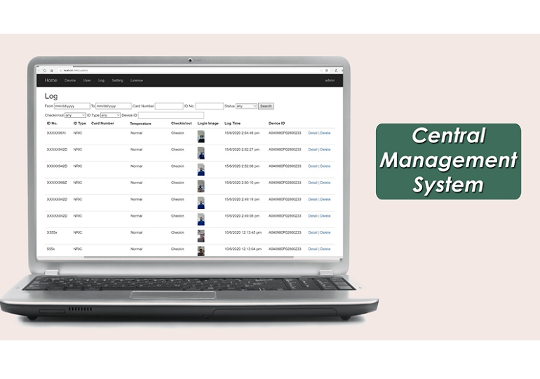 Secure and Centralised Management System