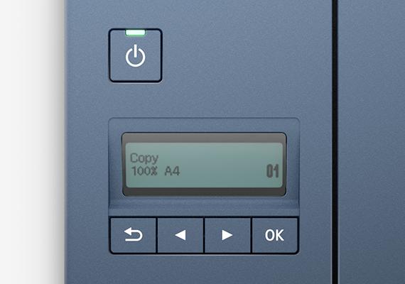 2-Line Mono LCD Display