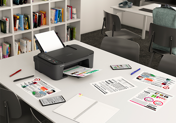 Canon Updates Ink Efficient E Series Line-up with New All-in-one Printer