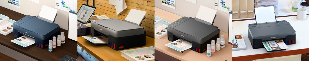 Canon Unveils New G series Printers to Boost Productivity for Home and Small Businesses
