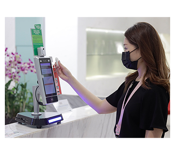 Facial Access Control Temperature System