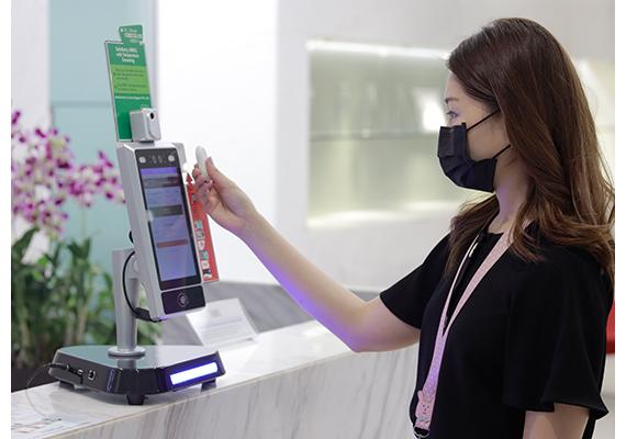 Facial Access Control Temperature System