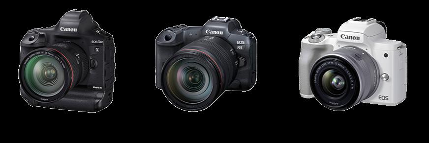 Mirrorless Camera EOS M50 Mark IIMirrorless Camera EOS R5Digital SLR Camera EOS-1D X Mark III
