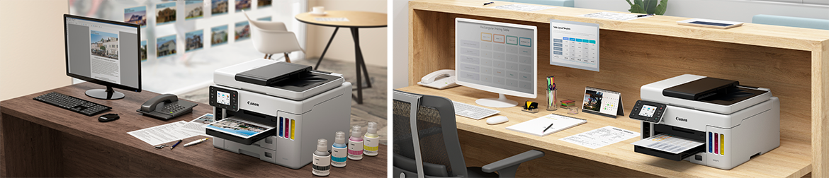 Canon Introduces Its First Pigment Based Refillable Ink Tank Printers To Meet High Volume Colour Printing Demand In Home Offices And Small Businesses