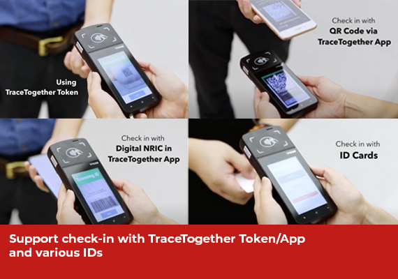 Support Card ID Digital ID and TraceTogether TokenApp