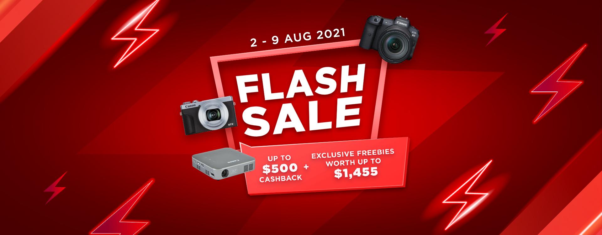 August Flash Sale