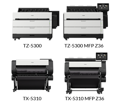 Canon Breaks New Ground in The Large Format Production CAD Market with The New imagePROGRAF TZ Series