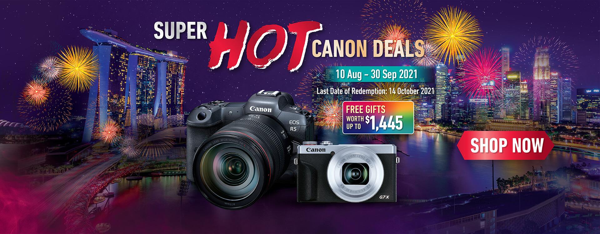 Super HOT Canon Deals